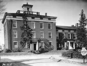 the susquehanna female college in selinsgrove pa circa1936