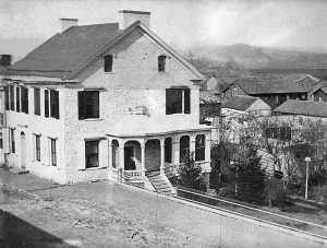 the governor snyder mansion in selinsgrove pa 1875