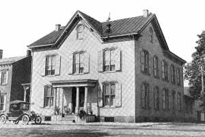 Built in 1880 in selinsgrove pa as the residence of Attorney Anthony Simpson