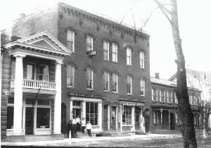In the early 1900s, the Lutz Barber Shop in selinsgrove pa occupied the site that's now home to the Kind Cafe.