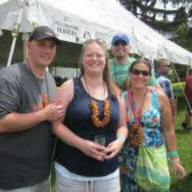 Group shot Selinsgrove, PA Brew Fest 2014